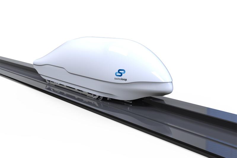 Modell eines Hyperloop