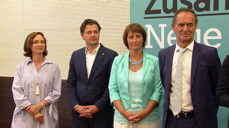 ÖVP Spitzenkandidaten präsentiert