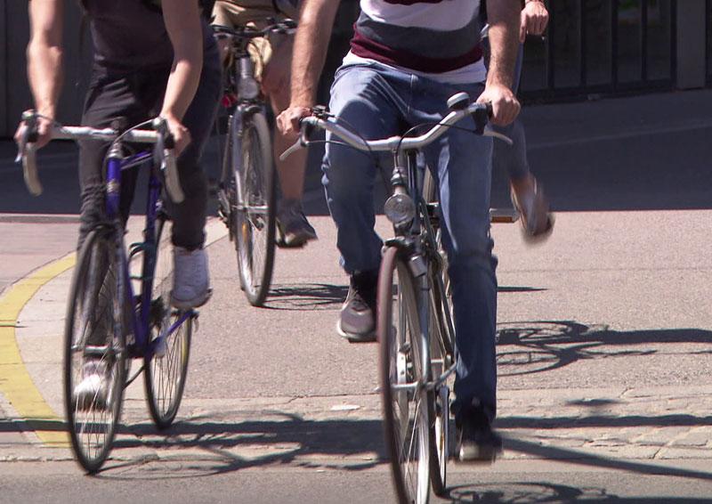 Unachtsame Fahrradfahrer