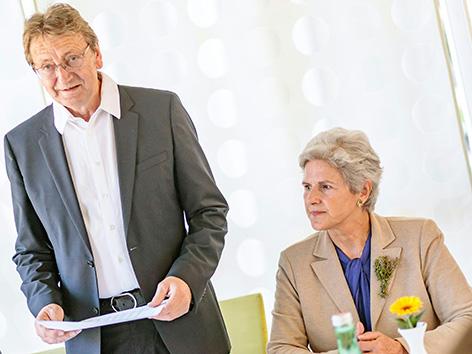 Karl Schnell und Barbara Rosenkranz