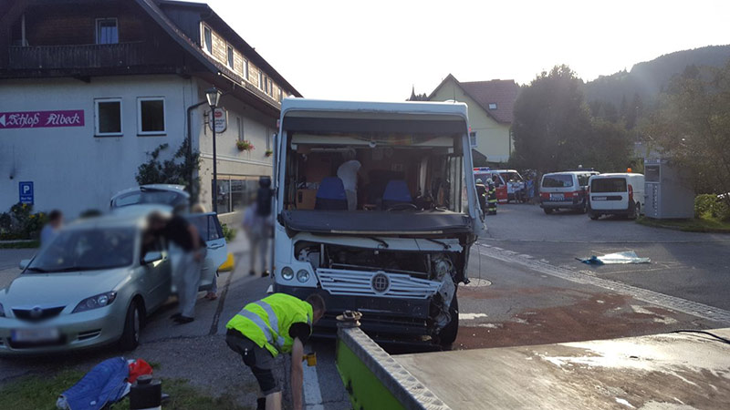Unfall Sirnitz Wohnmobil Hochrindl