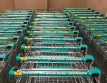 Supermarkt Merkur Einkaufswagen