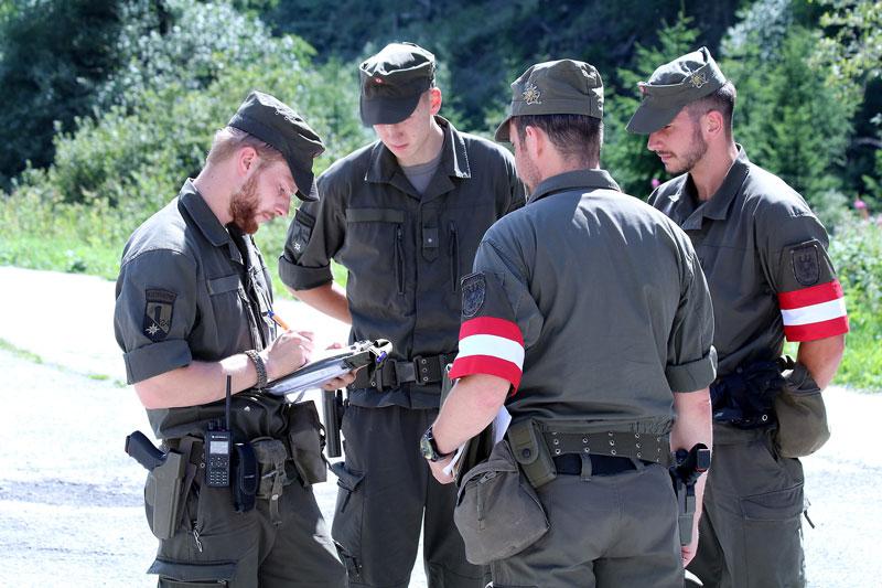 Soldaten im Assistenzeinsatz