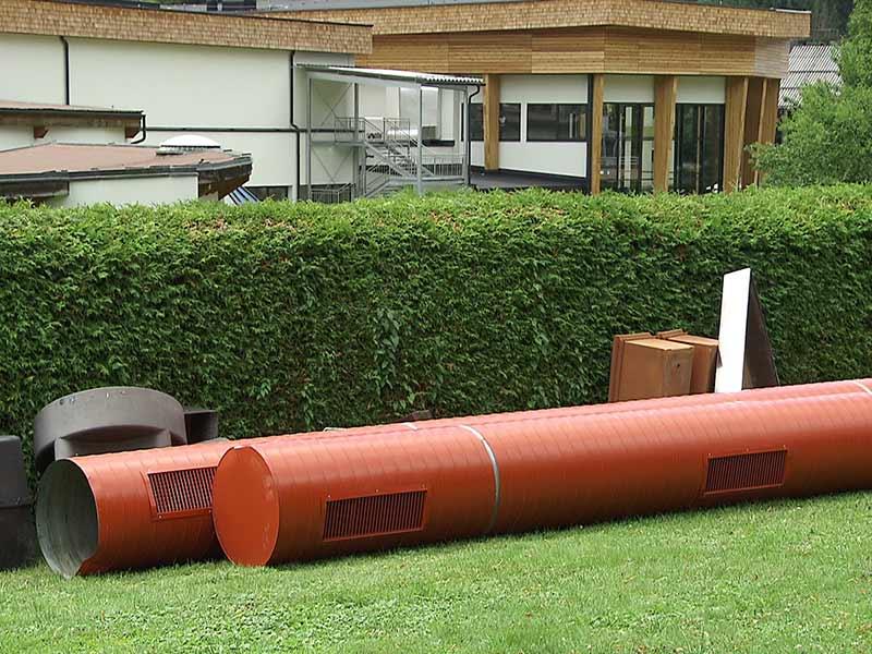 Rohr von Decke gefallen St. Kathrein Bad Kleinkirchheim