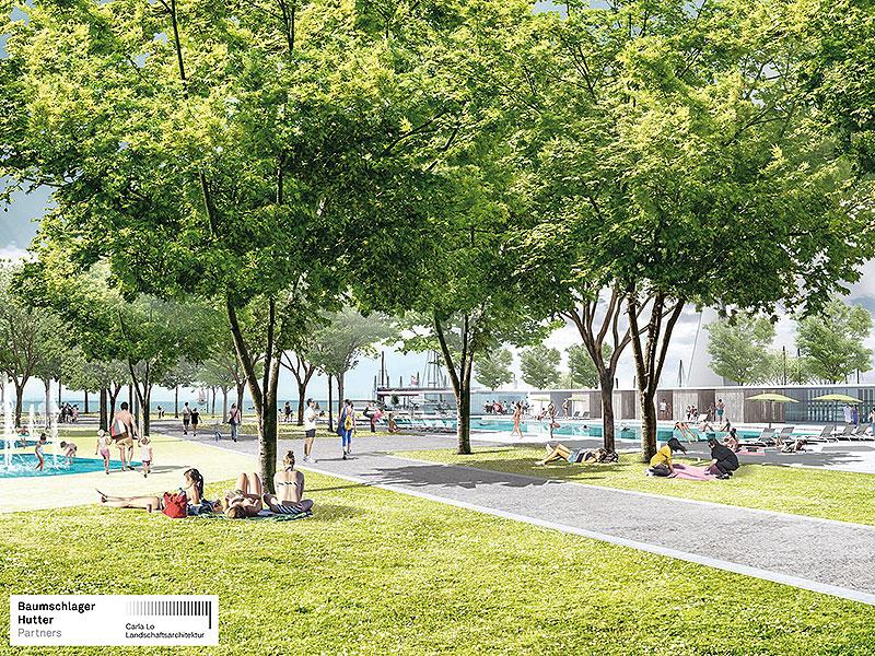 Umgestaltungspläne Für Seebad Neusiedl Burgenlandorfat