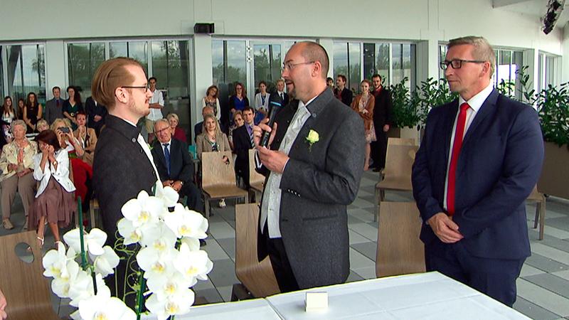 Homo-Ehe Mörbisch Vargyas Schwule Verpartnert Gleichgeschlechtlich Ehe