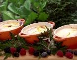 Beeren-Frischkäse-Gratin