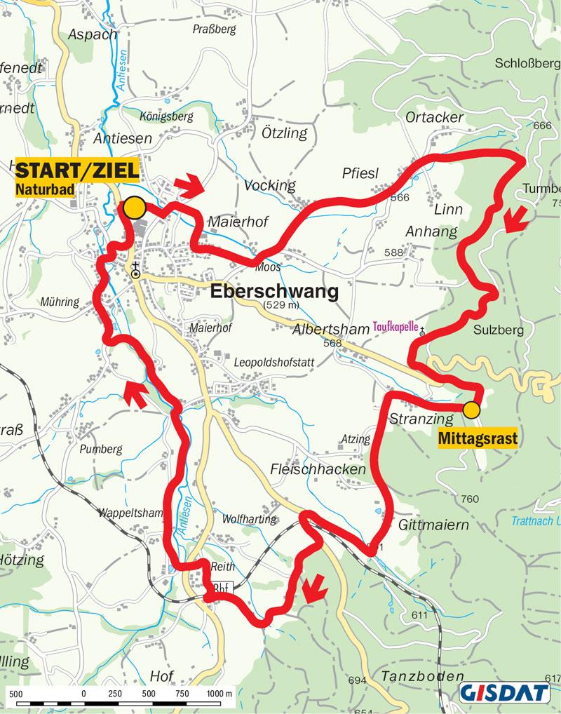 Wanderung Eberschwang