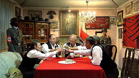 "Szene aus Ulrich Seidls Film ""Im Keller"""