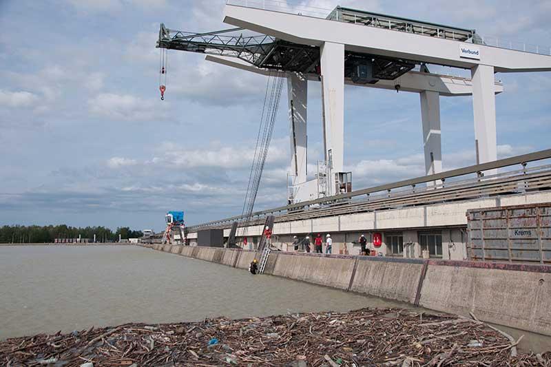Donaukraftwerk Altenwörth Revision