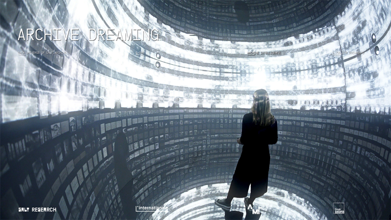 Archive Dreaming / Refik Anadol (TR) Ars Electronica Festival 2017