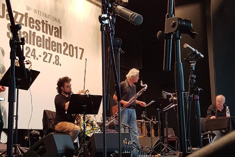 Michael Riessler Jazzfestival Saalfelden
