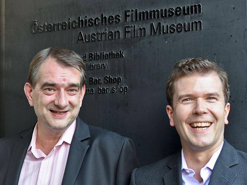 Alexander Horwath (L) und  Michael Loebenstein