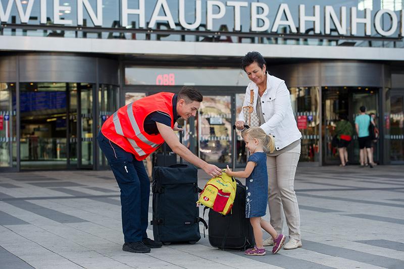 ÖBB-Test Kofferträger