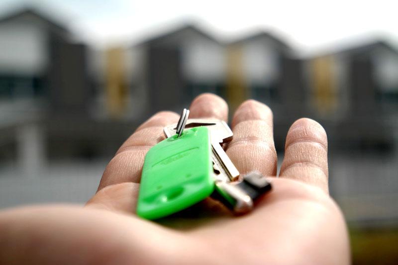 Schlüssel für Haus oder Wohnung