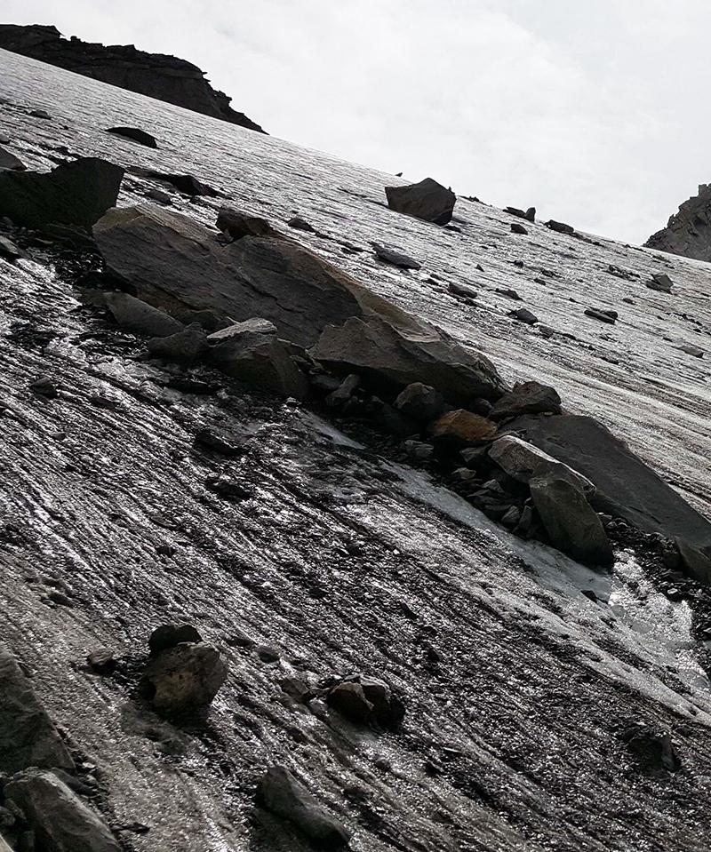 Bergretter Bergrettung Krimml Gletscher Eis