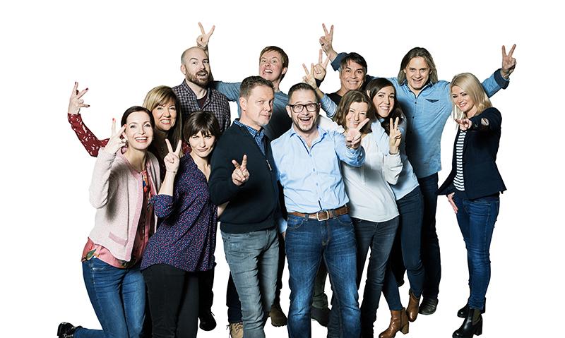 Radio Vorarlberg Moderatoren Gruppenfoto