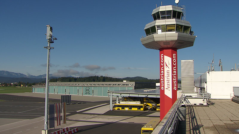 Flughafen Airport Klagenfurt Michael Kunz