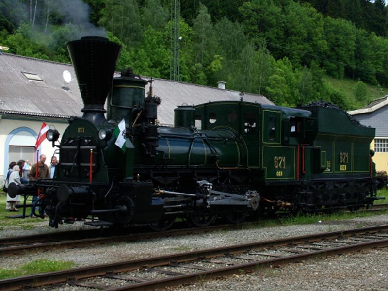 Die GKB 671 – die dienstälteste Dampflok der Welt