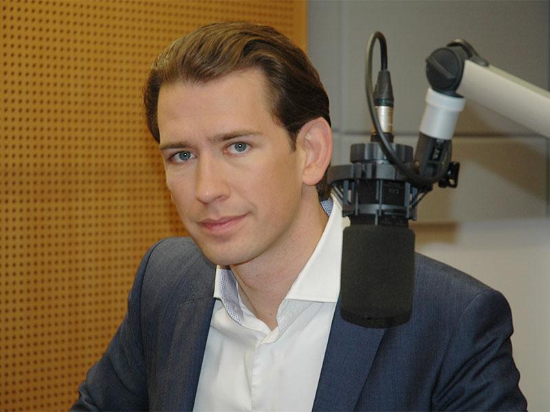 Interview Sebastian Kurz und Robert Ziegler