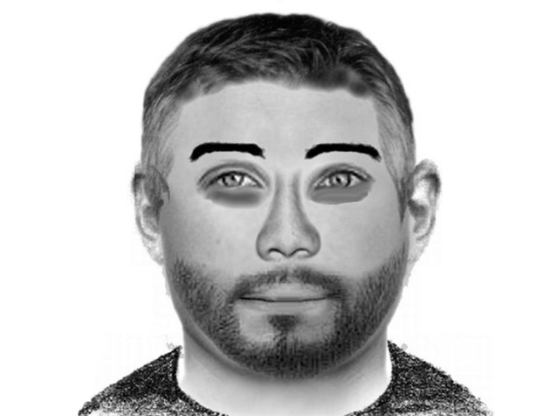 Phantombild, mit dem die Polizei nach dem Angreifer auf einen 16-Jährigen in Oberwart fahndet