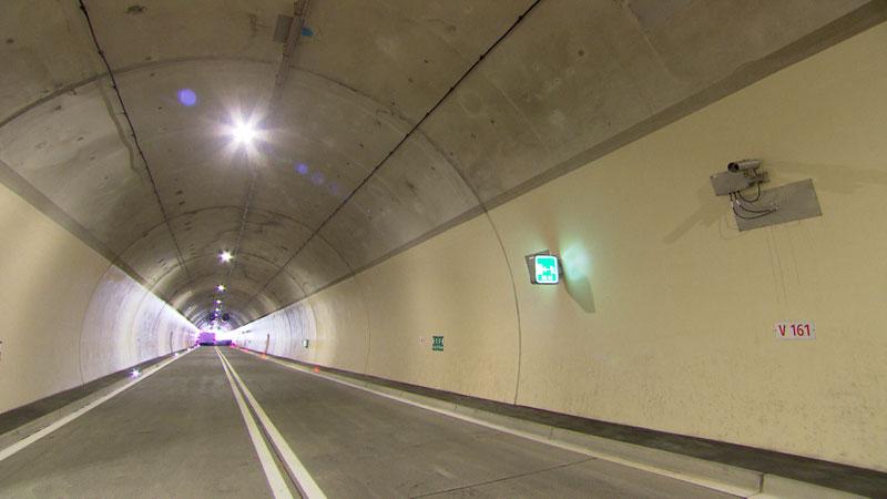 Neue Tunnel der A9
