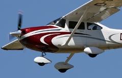 Cessna auf den Spuren von Exupery in die Sahara