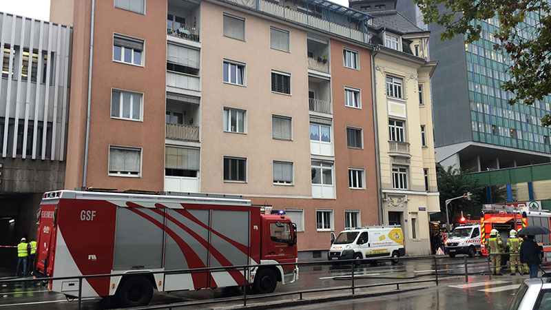 Gasaustritt in Klagenfurt Haus evakuiert