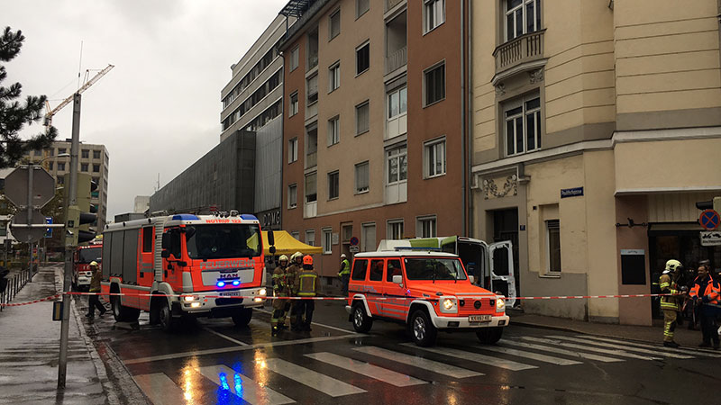 Gasaustritt Haus evakuiert