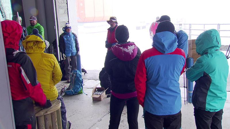 Gletschermessung Pasterze