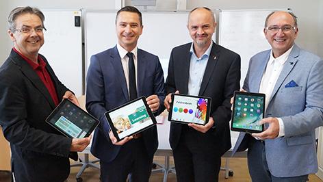 PK VS Trausdorf, iPads