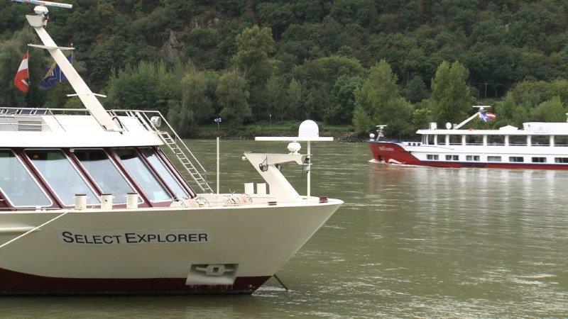 Schiffe in Dürnstein