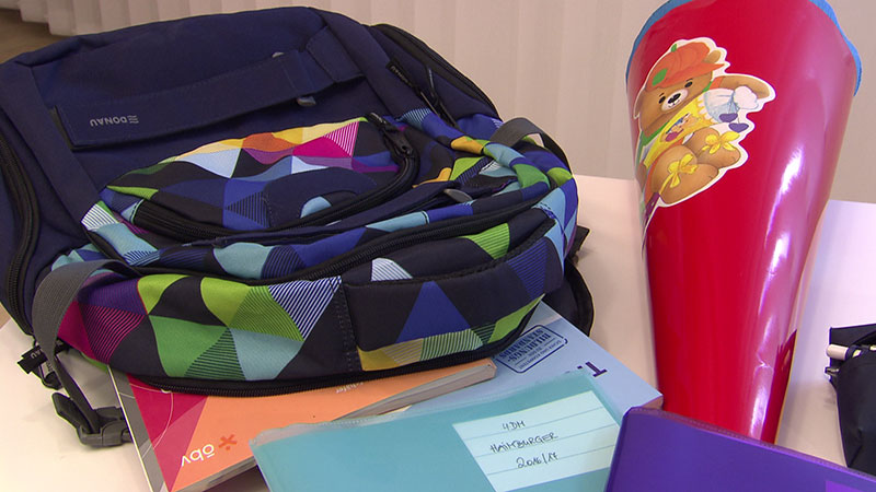 Schule Schulartikel Schultasche Stifte