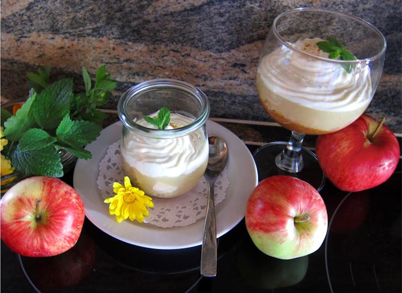Apfel-Trifle