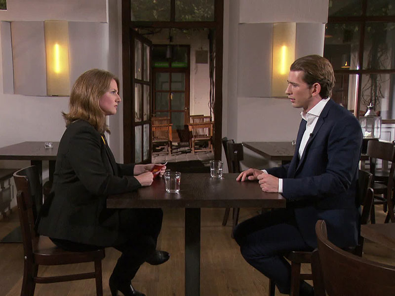 Sebastian Kurz im Interview