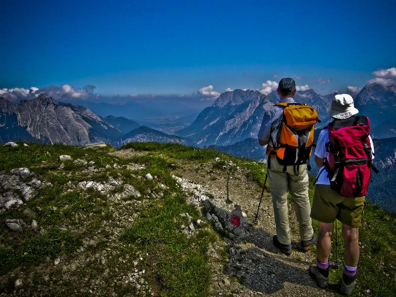 Berge und Wandern