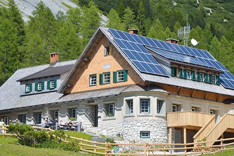 Wanze Klagenfurter Hütte Alpenverein