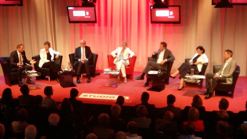 Diskussion im ORF Studio 3