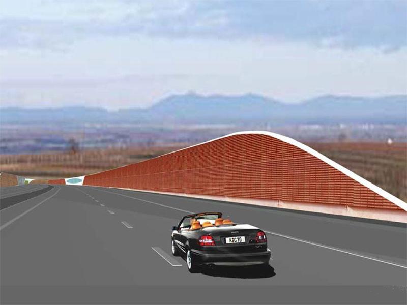 Grafik zur Weinviertelautobahn