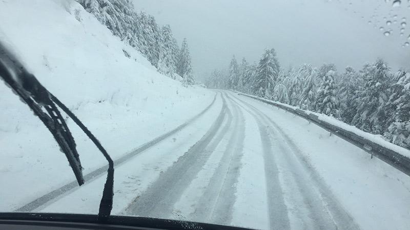 Turrach Wintereinbruch Schnee September