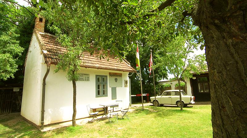Grenzstation im Dorfmuseum Mönchhof