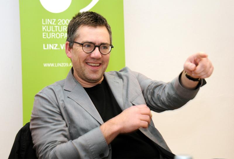 Airan Berg im Kulturhauptstadtjahr Linz09