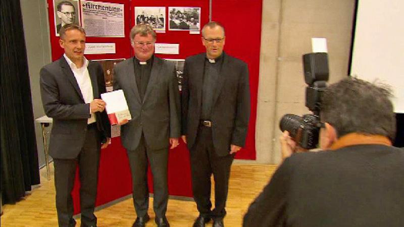 Buchpräsentation KZ Priester Steinkelderer; Manfred Scheuer, Josef Walder