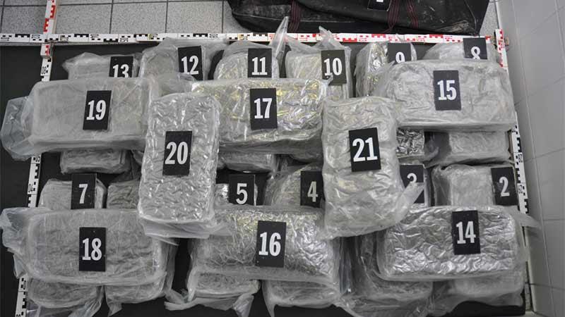 Cannabisfund Thörl-Maglern Albaner 21 Kilo