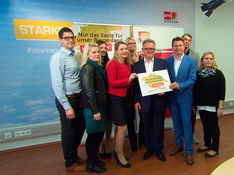 PK SPÖ Finale Gemeinderatswahlkampf