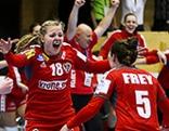 Handball Damen Nationalteam EM Qualifikation Österreich Russland