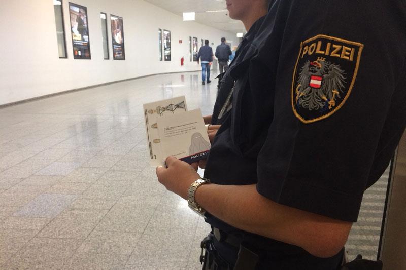 Flughafen Verhüllungsverbot Bilanz