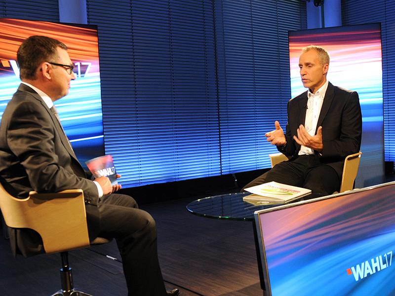 Dieter Brosz im Gespräch mit Robert Ziegler