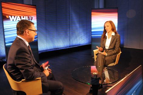 Sonja Hammerschmid im Gespräch mit Robert Ziegler