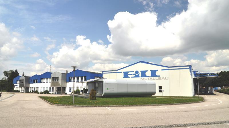 Fill Unternehmensgebäude Hohenzell